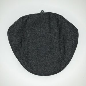 Other - Men's Wool Charcoal Cabbie Hat